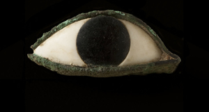 Eye from a mask or statue