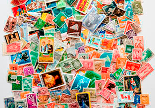 international postage stamp collection