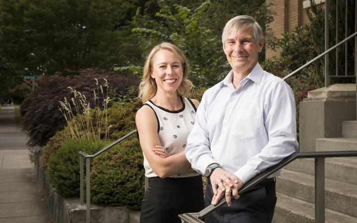 Karen Sandrik and Vincent Chiappetta Business Lawyering Institute