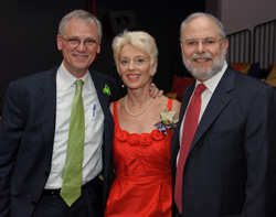 Susan M. Hammer with, from left, U.S. Rep. Earl Blumenauer, D-Ore., and Planned Parenthood CEO David Greenberg. (Photo Credit: Andie Petkus Photography)
