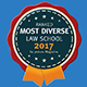 Most Diverse Law School listing