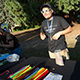 Willamette academy student at total solar eclipse Aug. 2017