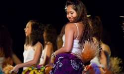"""We put on the Lu'au every year as a way for us to spread the Hawaiian culture with our community,"" says Deanna Choy '15, one of the event organizers."