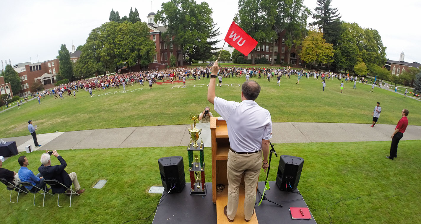 Willamette community unites to reclaim a world record in Red Light ...