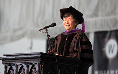 Lynn Nakamoto, College of Law Commencement speaker 2018