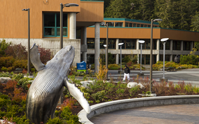 Whale and Egan Library, image courtesy of the University of Alaska Southeast