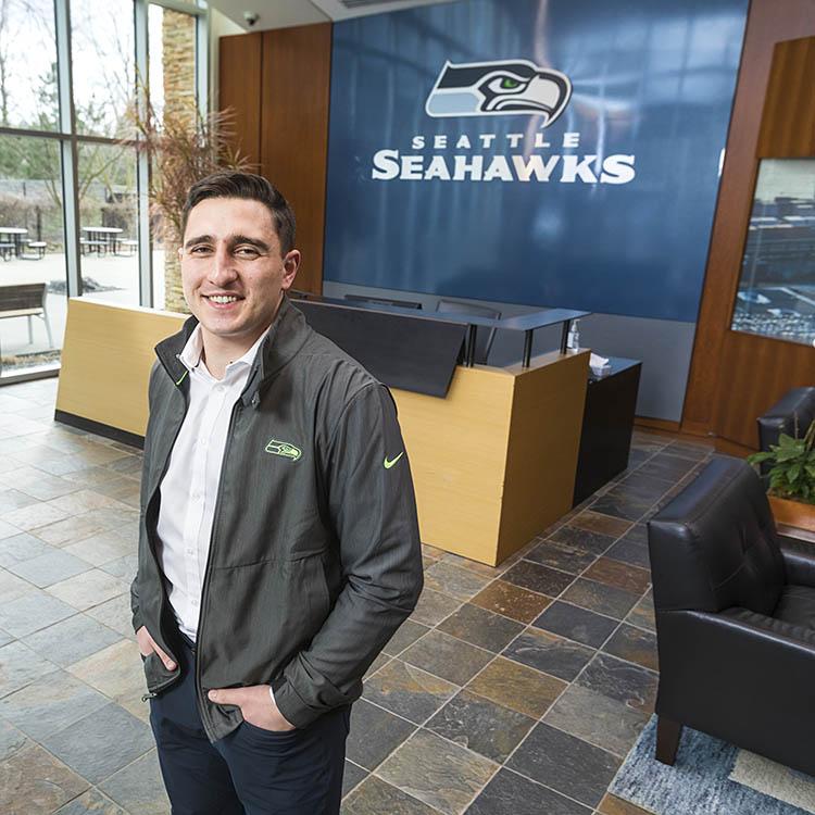 Paimon Jaberi at Seattle Seahawks